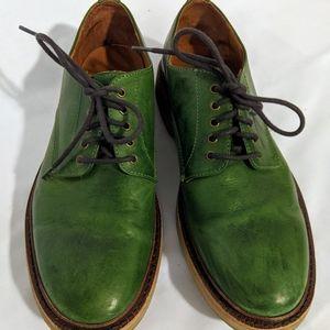 Frye's Green Luke Oxford Shows Size 9.5